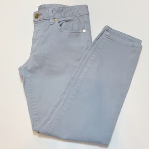 Tory Burch Sky Blue Alexa Cropped Skinny Jean 27